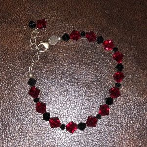 Emily Ray red and black bracelet